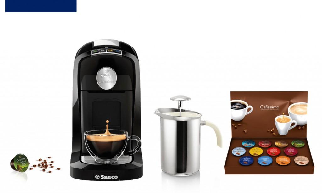 Tchibo Cafissimo TUTTOCAFFÈ Kaffeemaschine für 29,99 EUR