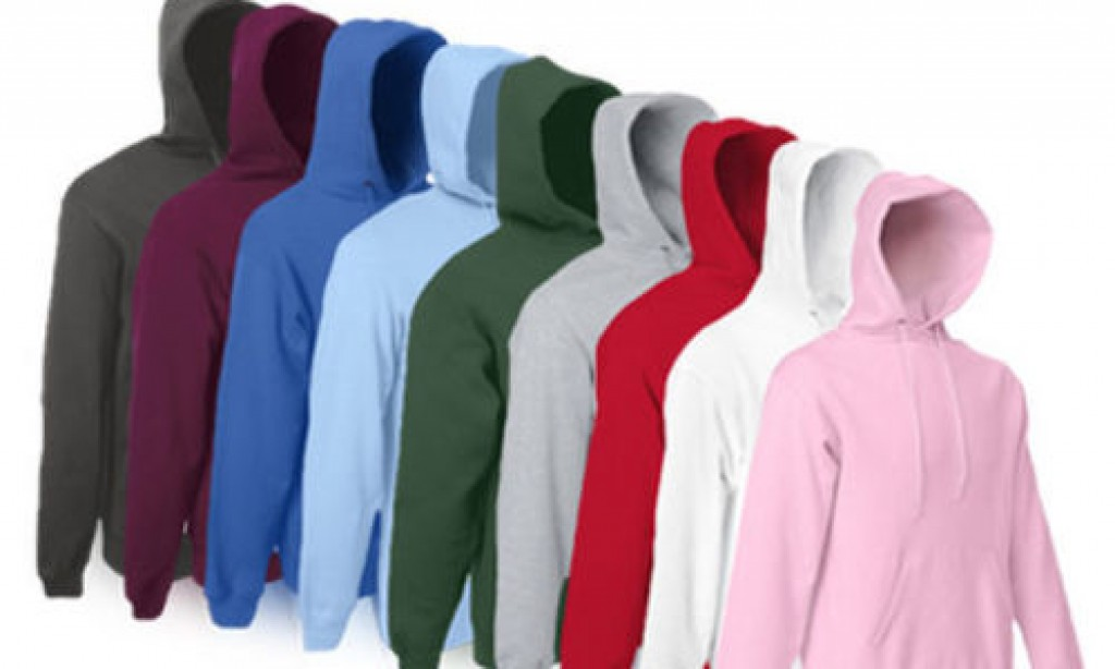 2er Pack Hoodies für 19,99 EUR – FRUIT OF THE LOOM Kapuzen Sweatshirt Unisex [ebay WOW!]