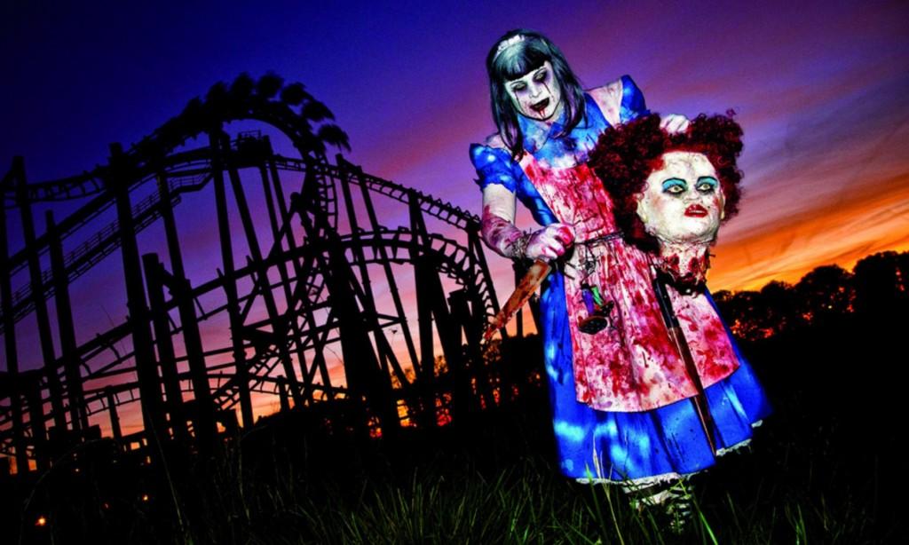 Tagesticket Movie Park + Halloween Horror Fest am 24.10. für 25 EUR