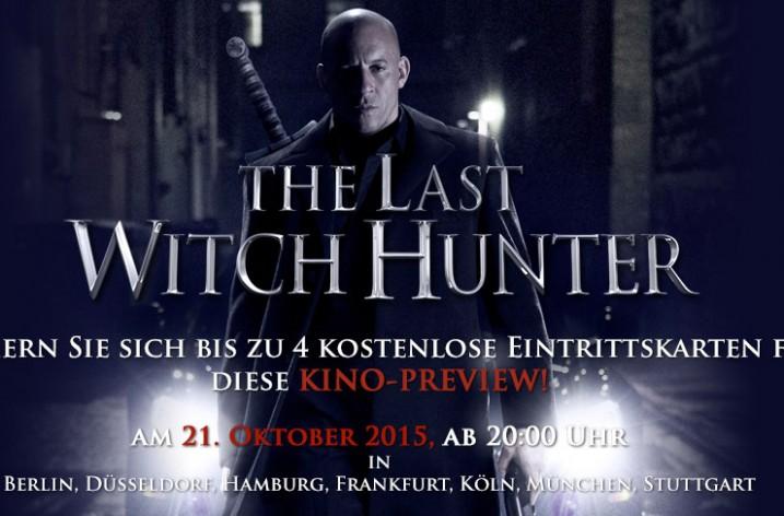 The Last Witch Hunter kostenlos im Kino sehen