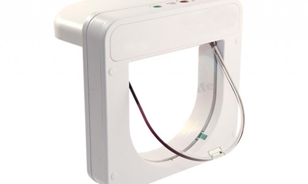 Katzenklappe mit Sensor für 75€ – PetPorte SmartFlap Mikrochip Katzentür