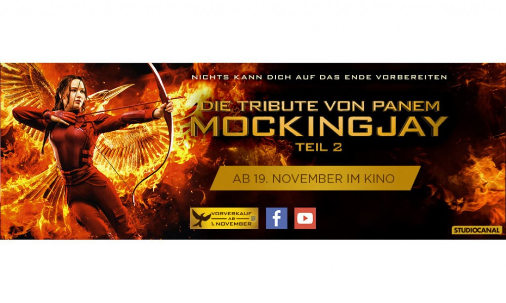 Kostenlose Kino-Preview: Die Tribute von Panem – Mockingjay Teil 2
