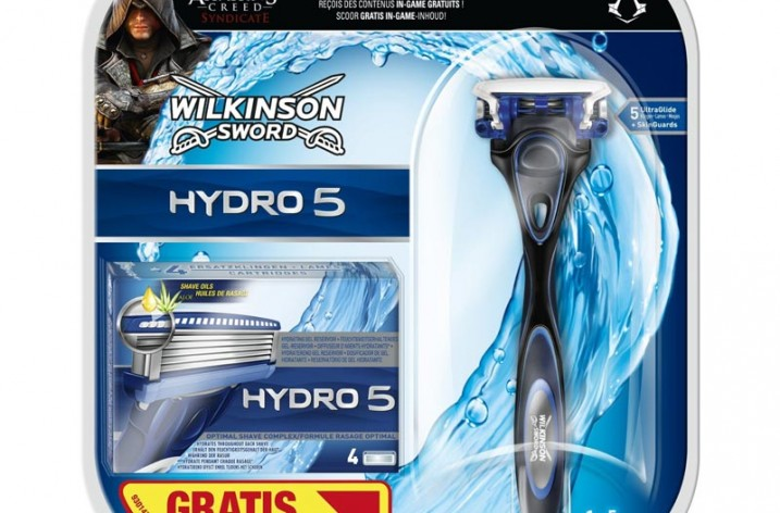 Wilkinson Hydro 5 Rasierer und Assassins Creed Syndicate DLC für 7 Euro bei amazon