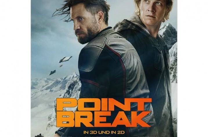 Fast kostenlos ins Kino zu Point Break (10 Städte)