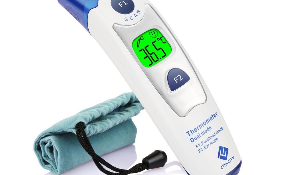 Günstiges Fieberthermometer – Etekcity Duales Infrarot Fieberthermometer für nur 35€