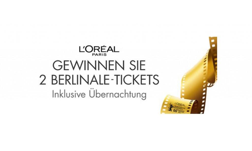 2 Tickets von L'Oréal Paris für die Berlinale mit Übernachtung im Waldorf Astoria gewinnen