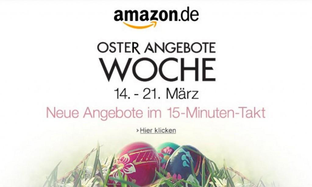 Amazon Oster-Angebote-Woche – jeden Tag neue Deals
